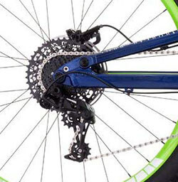DB Bicycles Mission 1 Gearing Mechanism