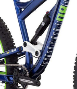 Suspension of Diamondback Mission 1 MTB