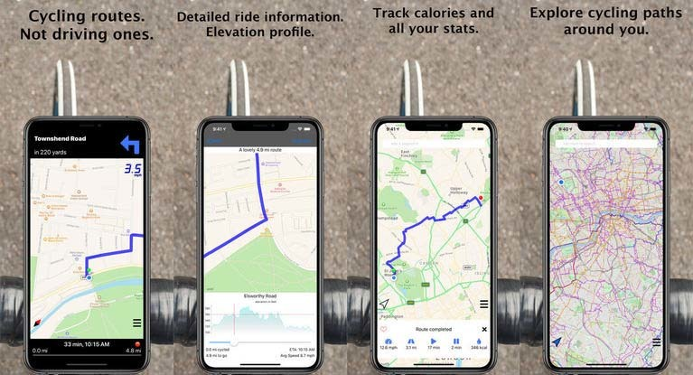 CycleMaps Bicycle App
