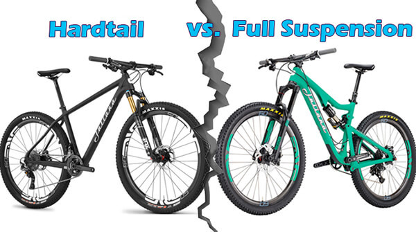 Hardtail or Full Suspension