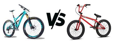 MTB vs. BMX