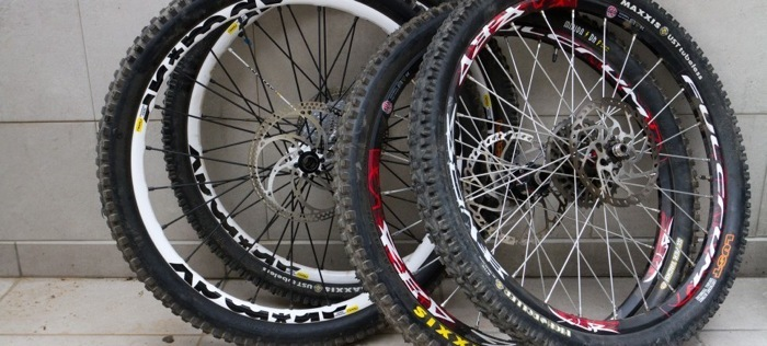 MTB Wheels and Tires