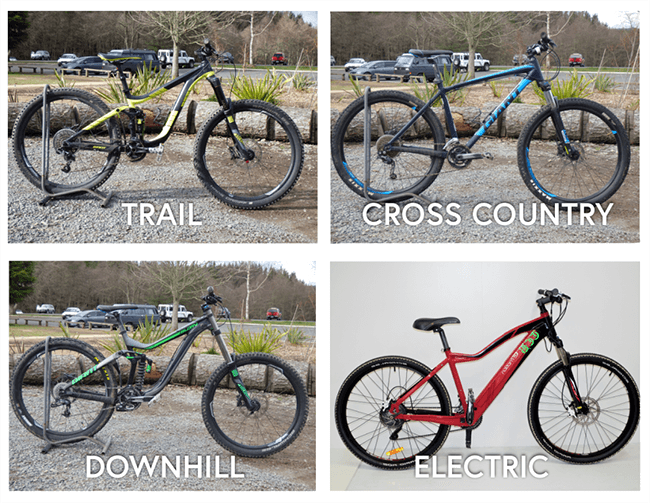 Types of riding you can do on a mountain bike