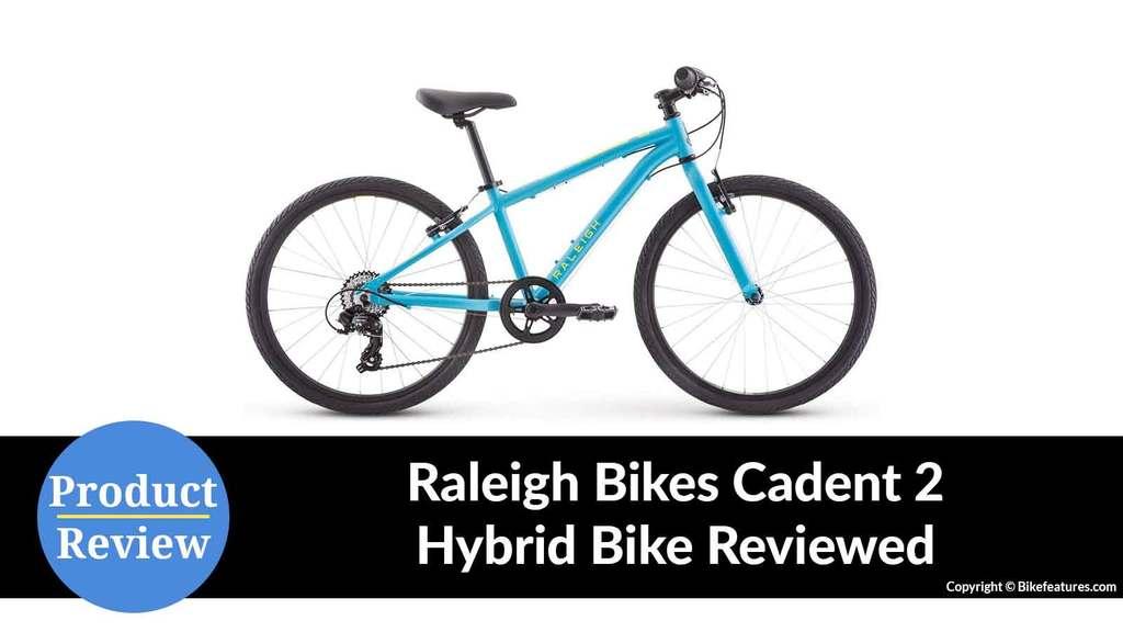 Raleigh Cadent 2 Hybrid Bike Reviewed