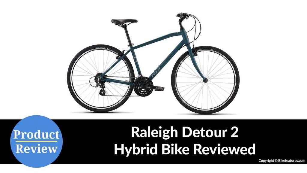 Raleigh Detour 2 Hybrid Bike Reviewed